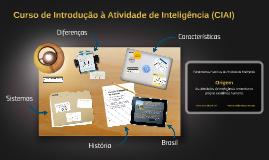 Copy of Curso de Introdução à Atividade de Inteligência (CIAI)