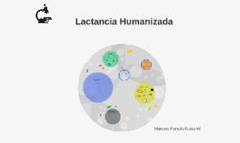 Lactancia Humanizada