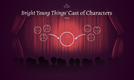 Bright Young Things' Cast of Characters