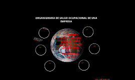 ORGANIGRAMA DE SALUD OCUPACIONAL DE UNA EMPRESA