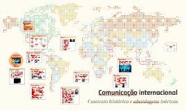 Comunicação internacional