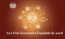 Crisis Economica espanola de 2008