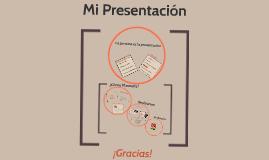 La presentación