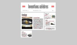 Inventions célèbres