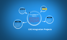 Copy of CAS INTEGRATION PROJECTS