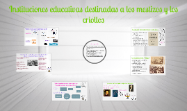 Copy of instituciones educativas destinadas a los mestizos y los cri