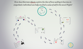 How does Sherman Alexie explore the idea of how seeking to b