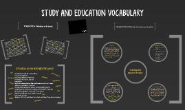 EDUCATION VOCABULARY
