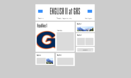 ENGLISH II at GHS