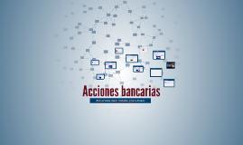 Acciones bancarias