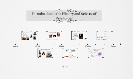 Modules 1-3: Introduction to the History and Science of Psychology