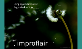 using applied improv in (higher) education
