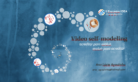 Video self-modeling