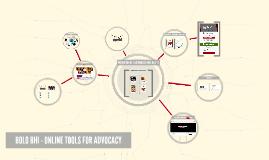 Bolo Bhi - Online Tools for Advocacy