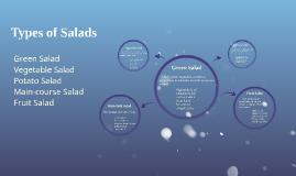 Types of Salads: