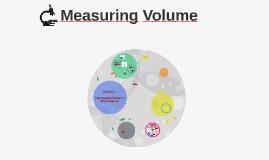 Measuring Volume Lesson