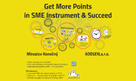 Get more points in SME Instrument - Checklist for success