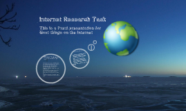 Internet Research Task