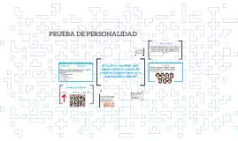PRUEBA DE PERSONALIDAD