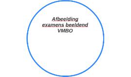 Afbeelding examens beeldend VMBO