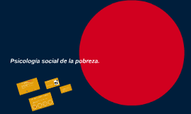 Copy of Psicología social de la pobreza.