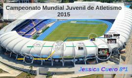 MUNDIAL JUVENIL DE ATLESTISMO CALI 2015