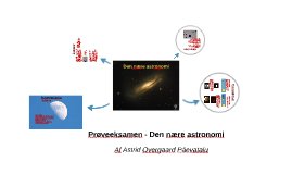 Prøveeksamen i fysik - Den nære astronomi
