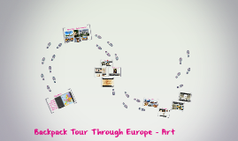 Copy of Backpack Tour Through Europe - Art