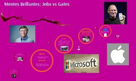 Copy of Mentes Brillantes: Jobs vs Gates