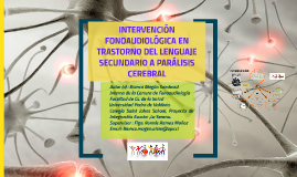 Intervención Fonoaudiológica en PC infantil