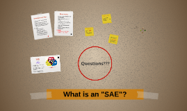 "What is an ""SAE""?"