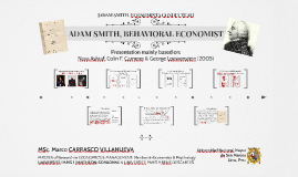 Adam Smith, Behavioral Economist