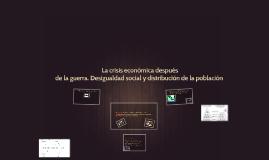 Copy of Desigualdad social y distribucion de la poblacion