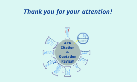 APA Citation & Quotation Review