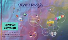 Dermatosis bacterianas