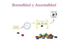 Normalidad y Anormalidad