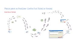 Actualizar Contactos en Outlook