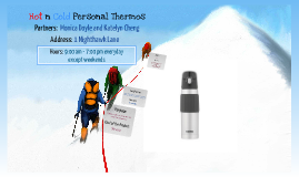 Hot and Cold Personal Thermos