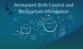 Permanent Birth Control and Postpartum Information
