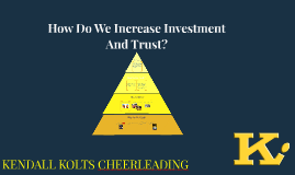 How Do We Increase Investment And Trust?