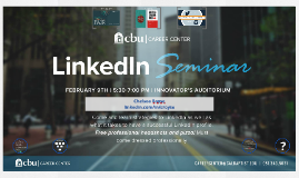 Copy of LinkedIn Seminar