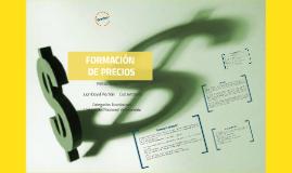 Copy of FORMACION DE PRECIOS