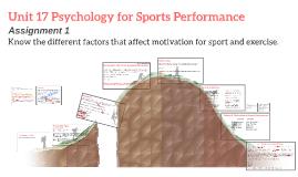 Unit 17 Psychology for sport - Assignment 1 DAL