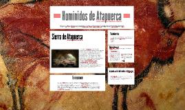 Homínidos de Atapuerca