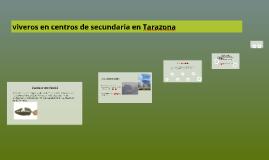 viveros en centros de secundaria en Tarazona