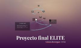 Proyecto final ELITE