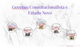 Governo Constitucionalista e Estado Novo