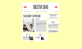 BOLETIN 3040