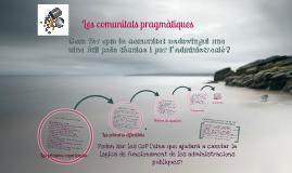 Copy of Copy of Les comunitats pragmàtiques