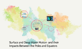 Surface and Deep Water Motion  and their Impacts Between the
